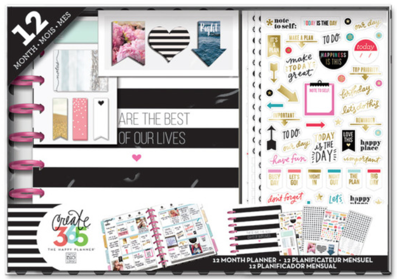 'Best Days' Happy Planner™ 12-month BOX KIT | me & my BIG ideas