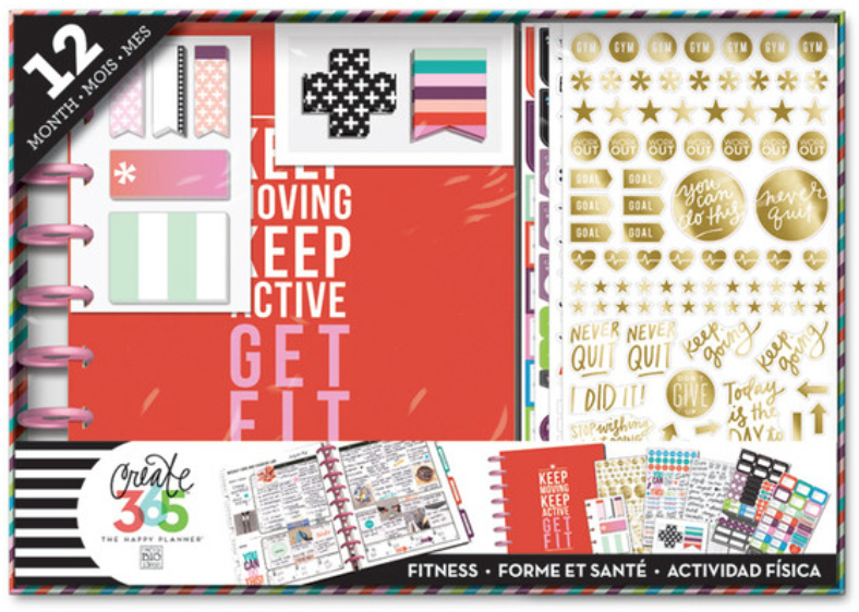 The Happy Planner™ Fitness Planner BOX KIT | me & my BIG ideas