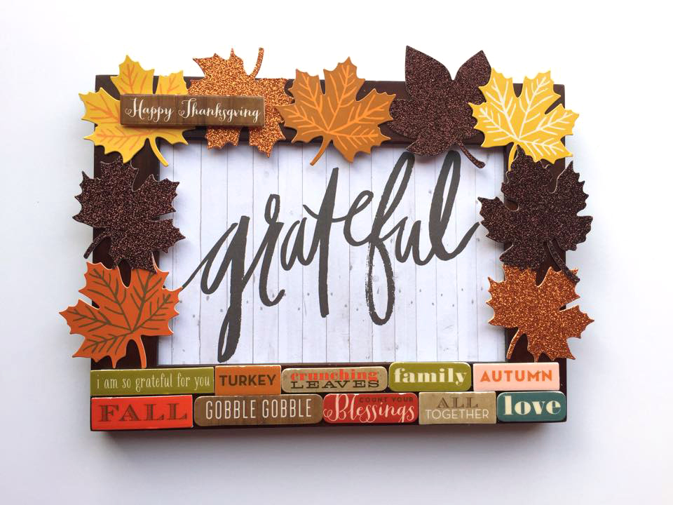 Thanksgiving crafts by mambi Design Team member Megan McKenna | me & my BIG ideas
