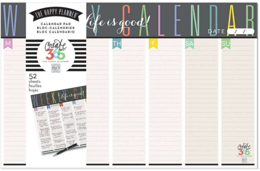 The Happy Planner™ Weekly Planner Pad | me & my BIG ideas