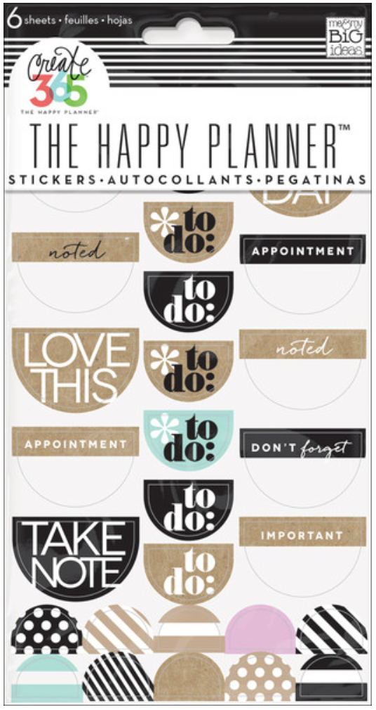 Neutral 'To Do' stickers for Cretae 365™ The Happy Planner™ | me & my BIG ideas