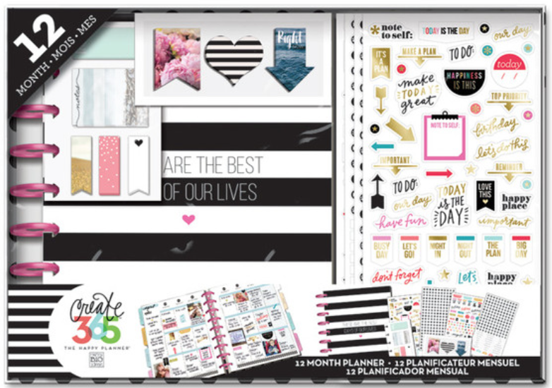 'Best Days' Happy Planner™ BOX KIT | me & my BIG ideashttp://shop.meandmybigideas.com/collections/create-365/products/best-day-planner