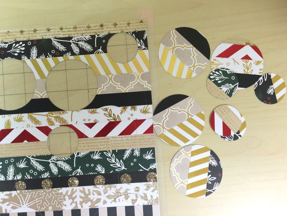 DIY Christmas garland by mambi Design Team member Heather Adams | me & my BIG ideas
