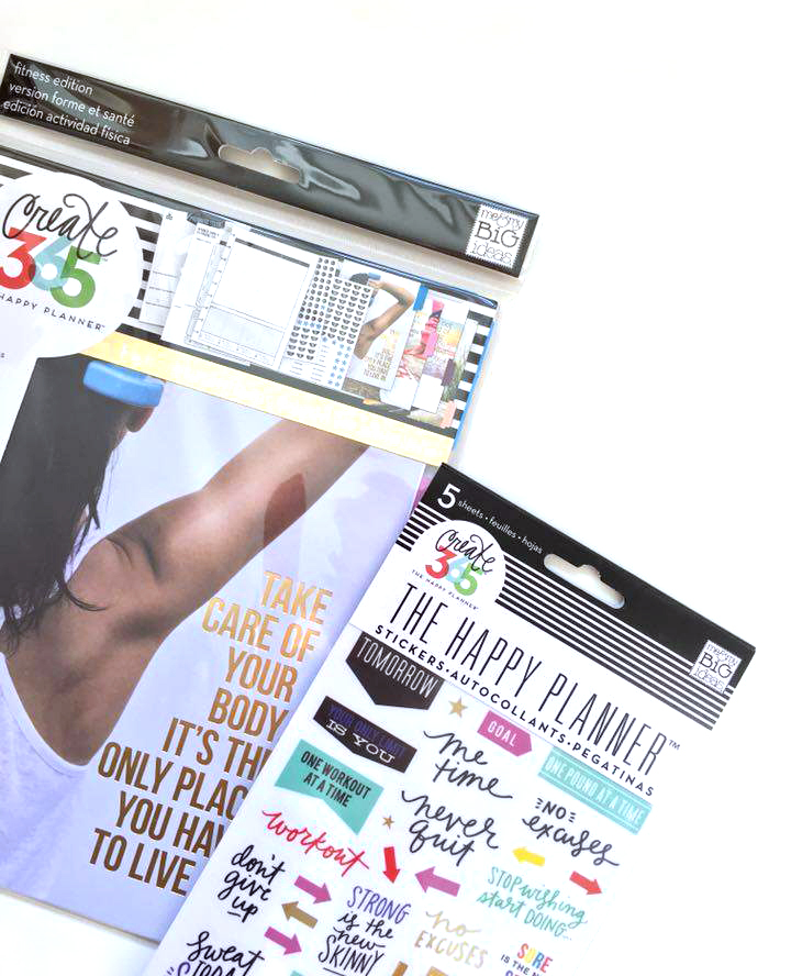 The Happy Planner™ Fitness Planner Extension Pack coming 1/01/2016 | me & my BIG ideas