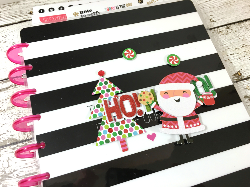 a Happy Planner™ Christmas gift by mambi Design Team member Mary-Ann Maldonado | me & my BIG ideas