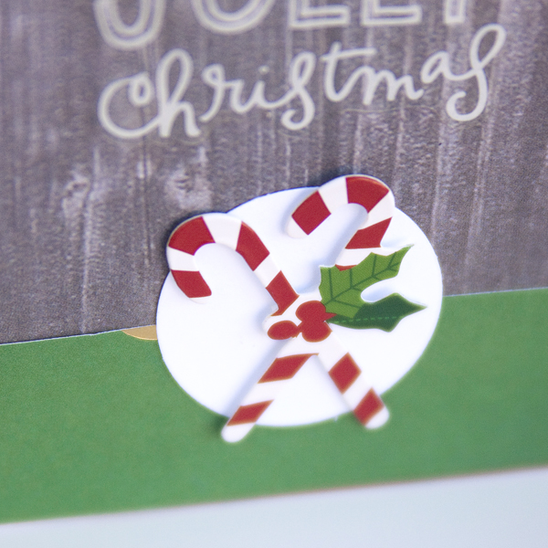 two Christmas Cards by mambi Design Team member Jennie McGarvey | me & my BIG ideas