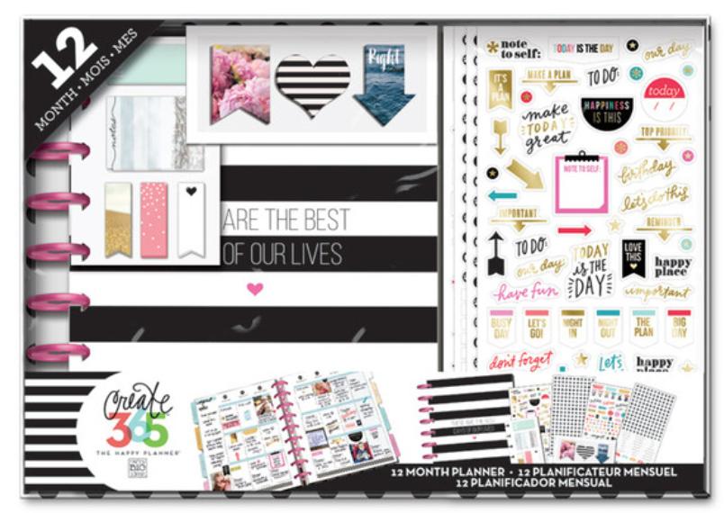 12 Month 'Best Days' Happy Planner™ BOX KIT | me & my BIG ideas