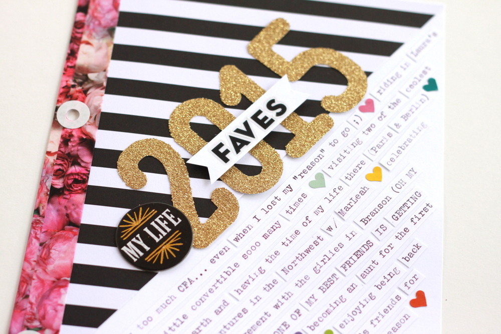 '2015 Faves' by mambi Design Team member Heather Adams | me & my BIG ideas