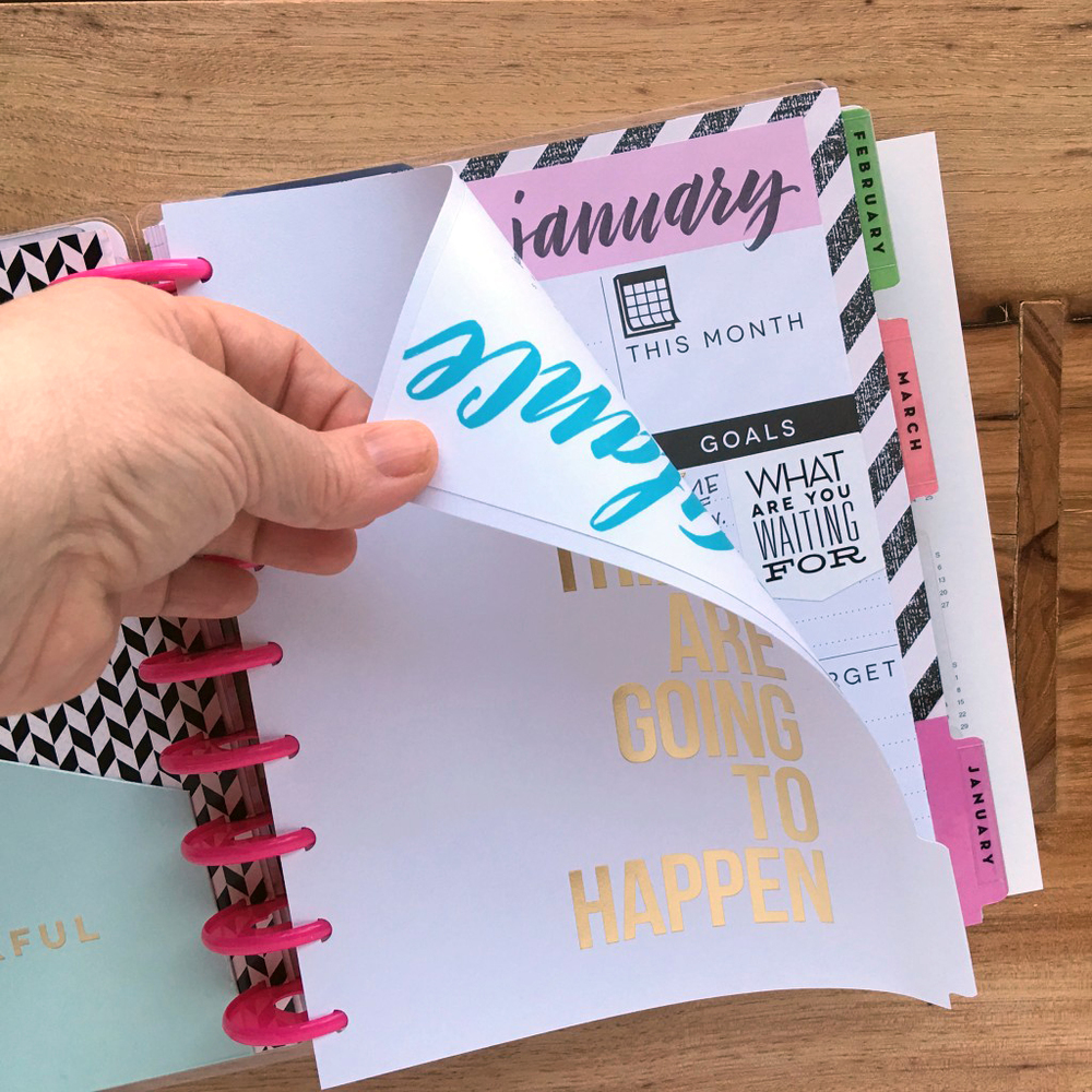 2016 'Year at a Glance' Free Printable by mambi Design Team member Janna Wilson | me & my BIG ideas