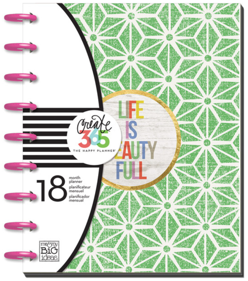 2015-2016 'Life is Beauty Full' Happy Planner™ | me & my BIG ideas