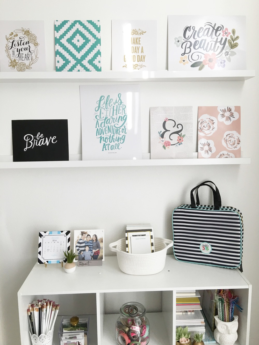 home decor | Savannah DIY Gallery Art Pad — me & my BIG ideas
