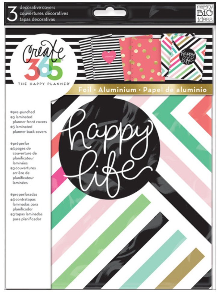 Decorative Covers - Happy Life for The Happy Planner™ | me & my BIG ideas