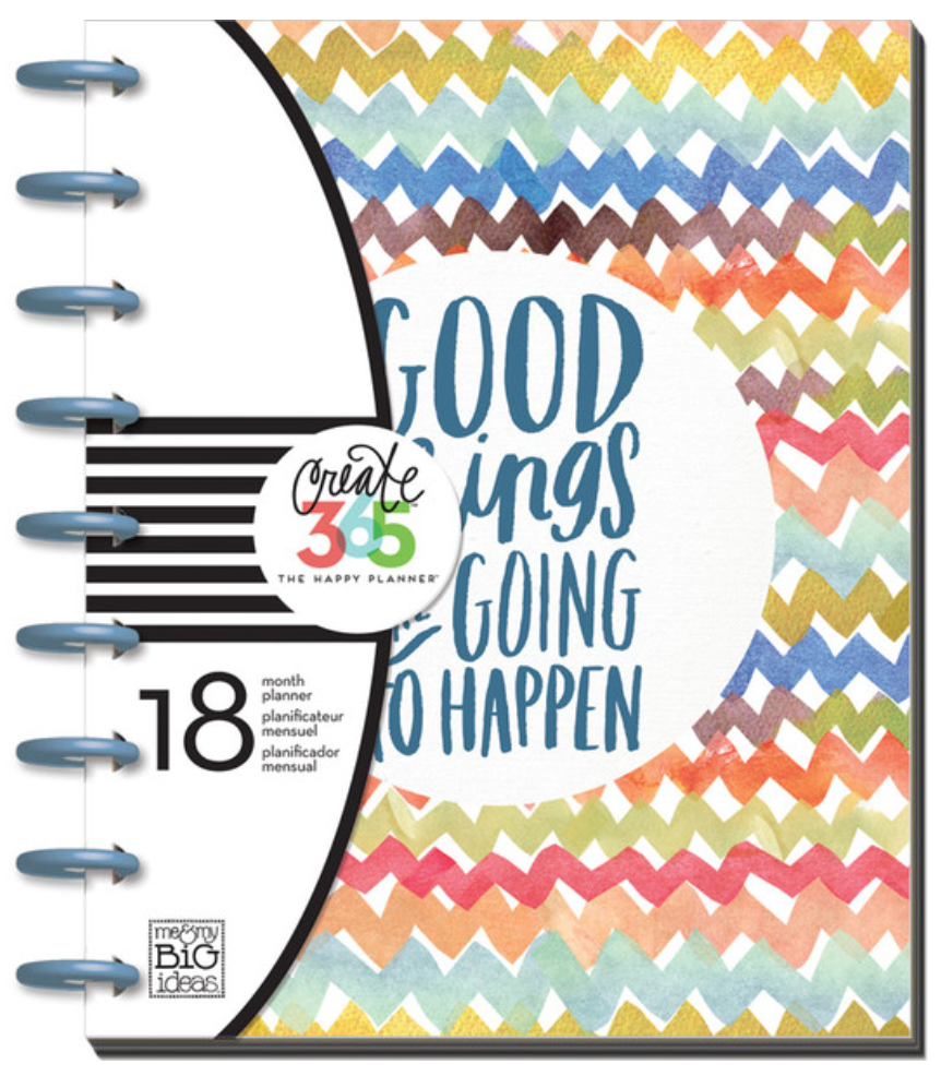 2015-16 Planner - 'Good Things Are Going To Happen' Happy Planner™ | me & my BIG ideas