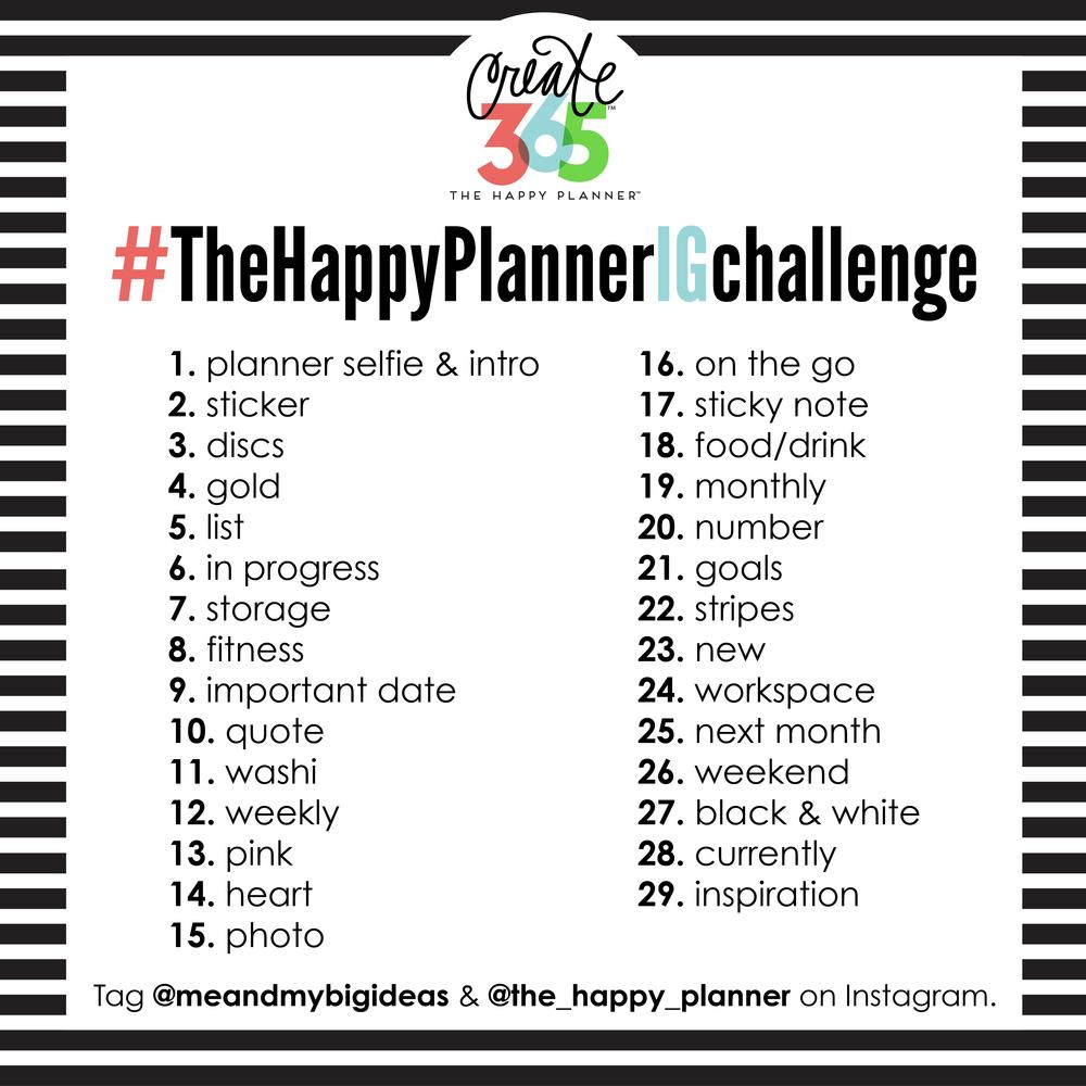 #TheHappyPlannerIGchallenge | me & my BIG ideas
