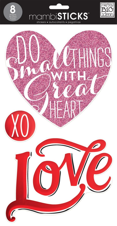 'Love' jumbo mambiSTICKS sticker pack   me & my BIG ideas.jpg