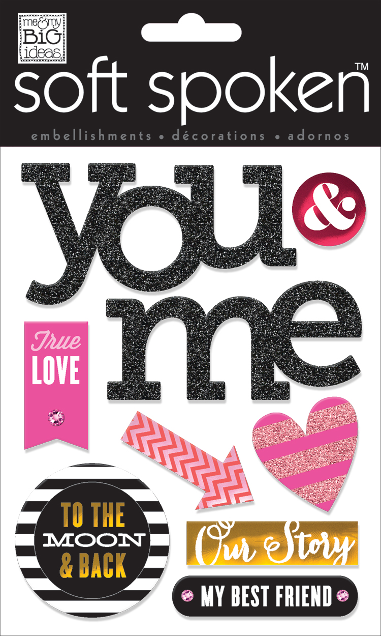 'True Love' SOFT SPOKEN™ dimensional stickers   me & my BIG ideas.jpg