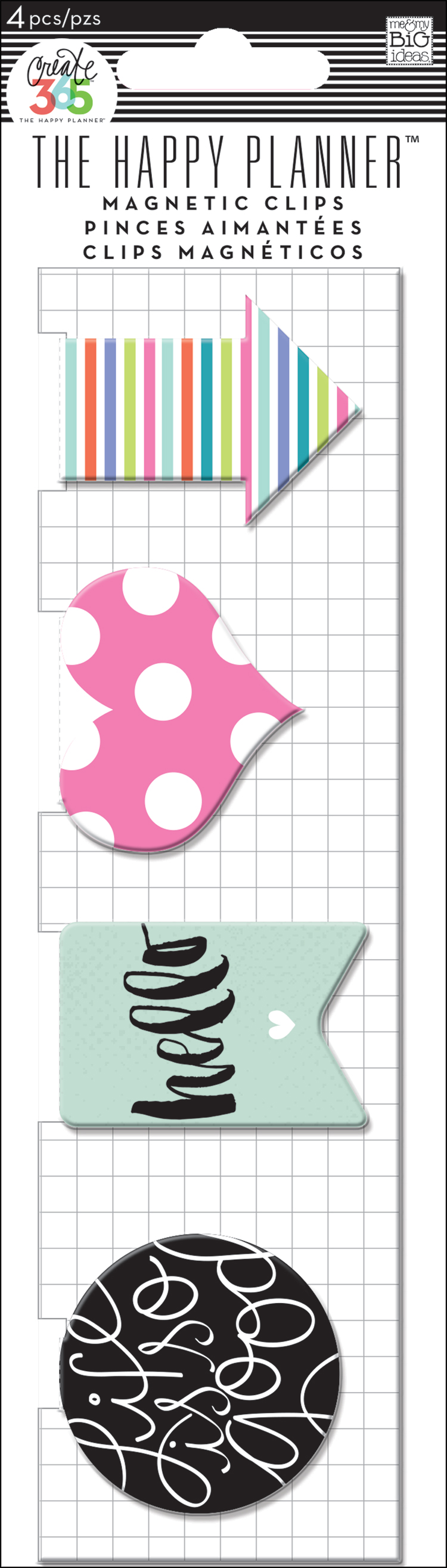 'Hello' Magnetic Page Clips for The Happy Planner™   me & my BIG ideas.jpg