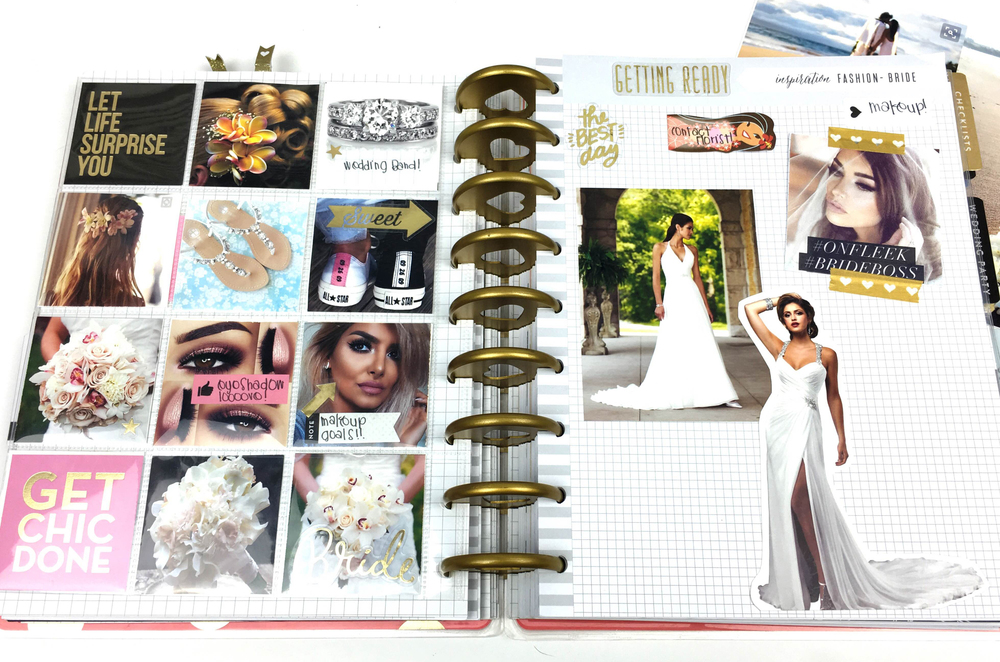 9 months to go! in The Happy Planner™ Wedding Planner of mambi Design Team member Chantal Stevens | me & my BIG ideas