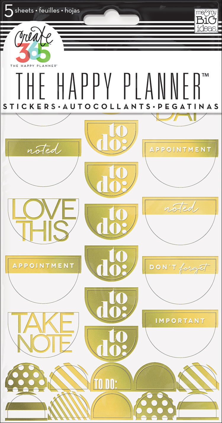'To Do' Gold Foil stickers for The Happy Planner™   me & my BIG ideas.jpg