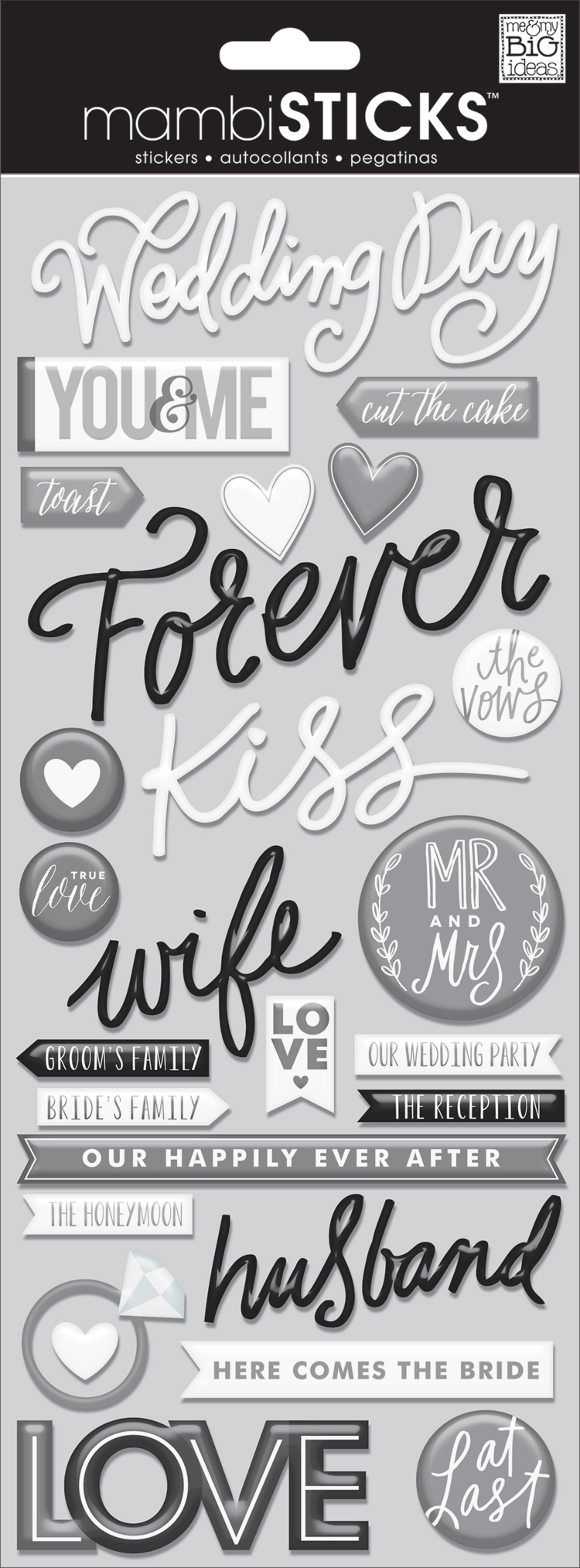 Wedding Day mambiSTICKS epoxy stickers | me & my BIG ideas.jpg