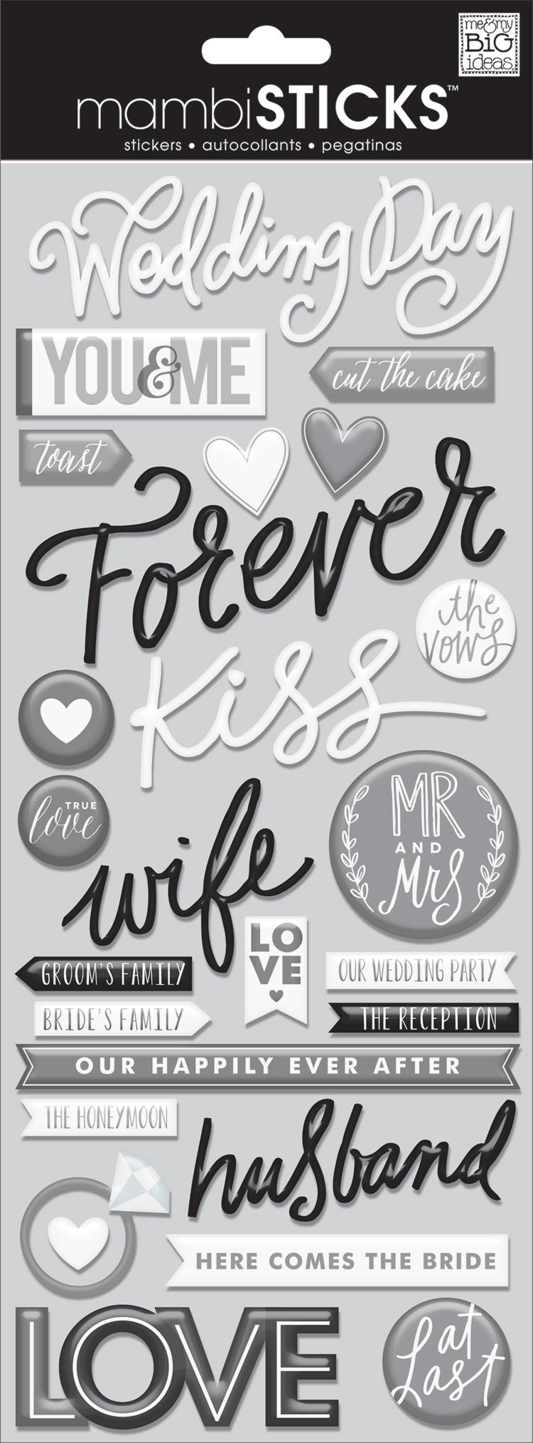 Wedding Day mambiSTICKS epoxy stickers   me & my BIG ideas.jpg