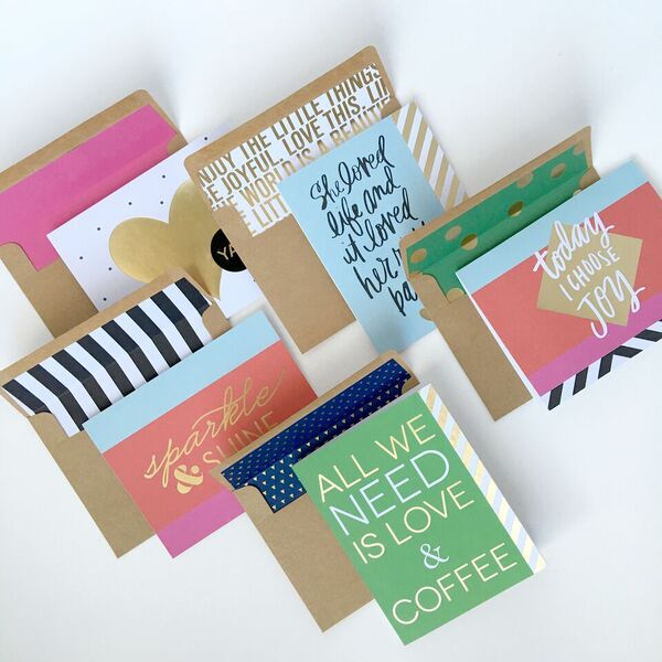 Craft | stationery gift set — me & my BIG ideas