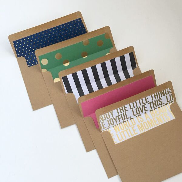 stationery gift set created by mambi Design Team member Janna Wilson | me & my BIG ideas