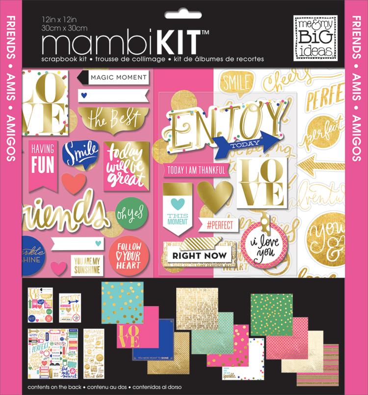 'Friends' mambiKIT 12x12 scrapbooking kit   me & my BIG ideas.jpg