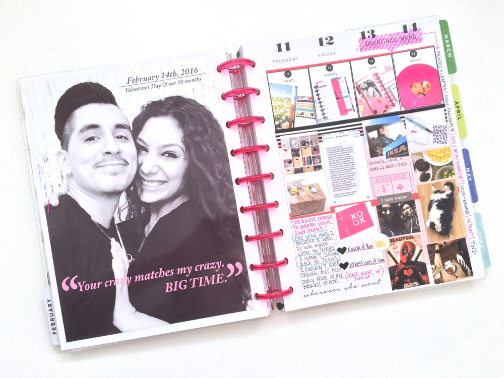 including a FULL PAGE photo into your Happy Planner? by mambi Social Media Coordinator Amanda Rose Zampelli | me & my BIG ideas