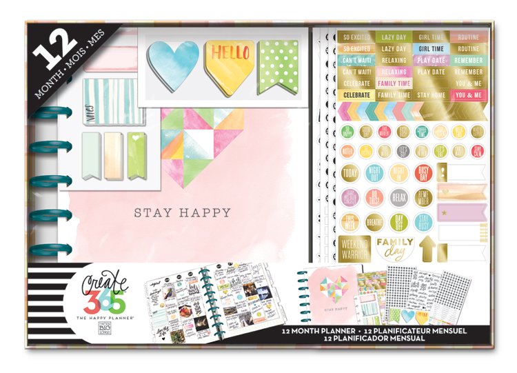 'Stay Happy' 12-month undated Happy Planner™ BOX KIT | me & my big ideas.jpg