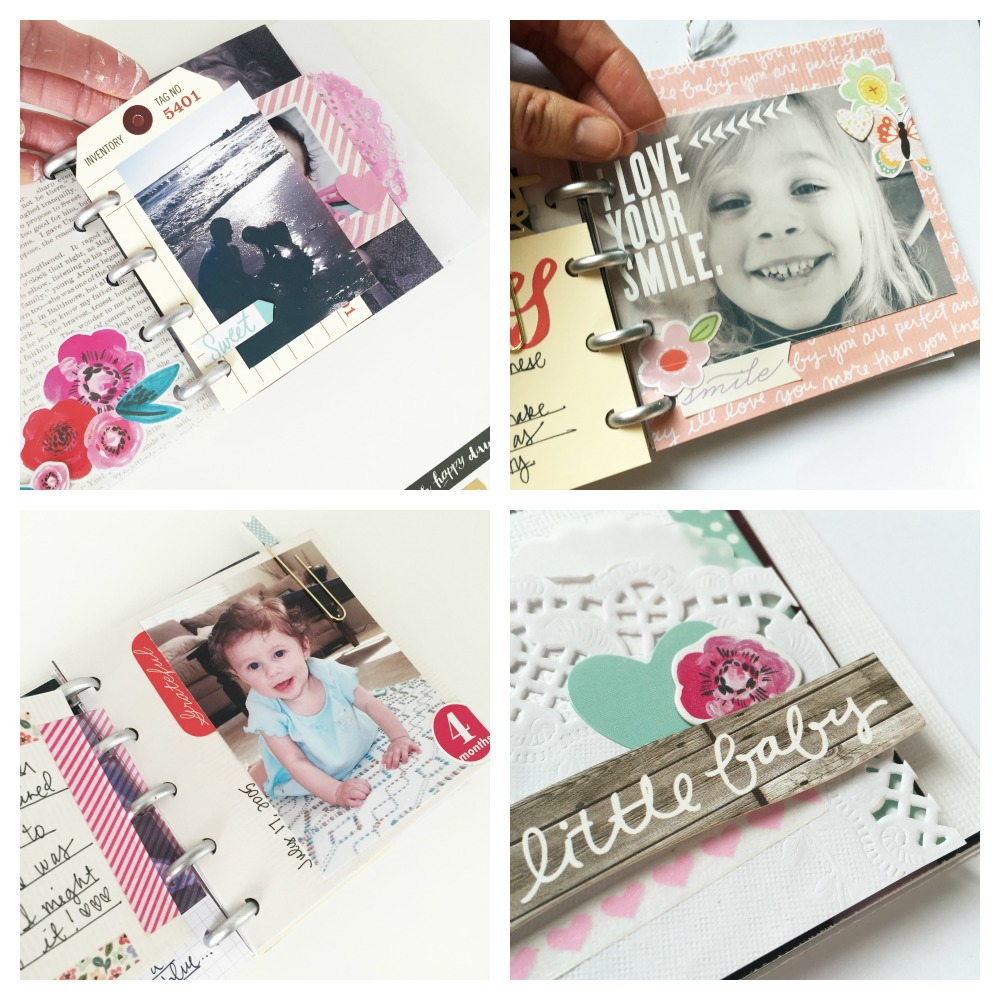 a mini disc mini album by mambi Design Team member Jen Randall for The Happy Planner™ PUNCH-A-PALOOZA | me & my BIG ideas