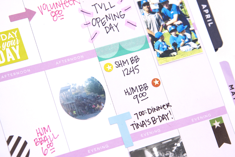 memory plan with mambi Design Team member Jennie McGarvey in her Happy Planner™ | me & my BIG ideas