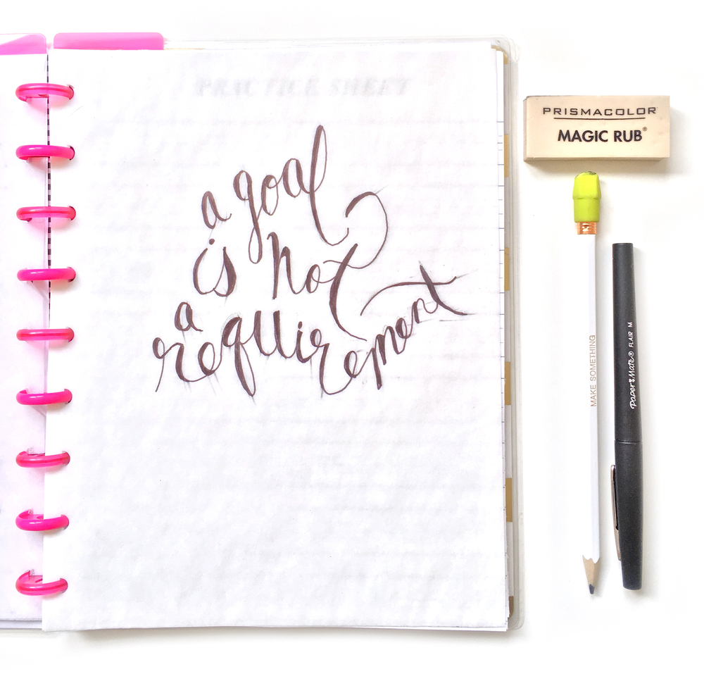 a DIY Sketchbook created by mambi Social Media Coordinator Amanda Rose Zampelli using prints from DIY Gallery Art Pads and The Happy Planner™ Punch | me & my BIG ideas
