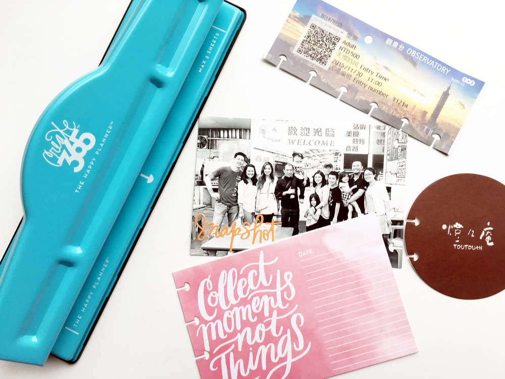 'Our Adventure' POCKET PAGES™ memory album created by mambi Deign Team member Theresa Doan using The Happy Planner™ system   me & my BIG ideas