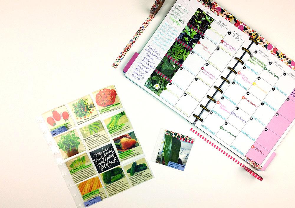 The Happy Planner Garden Calendar Journal me my