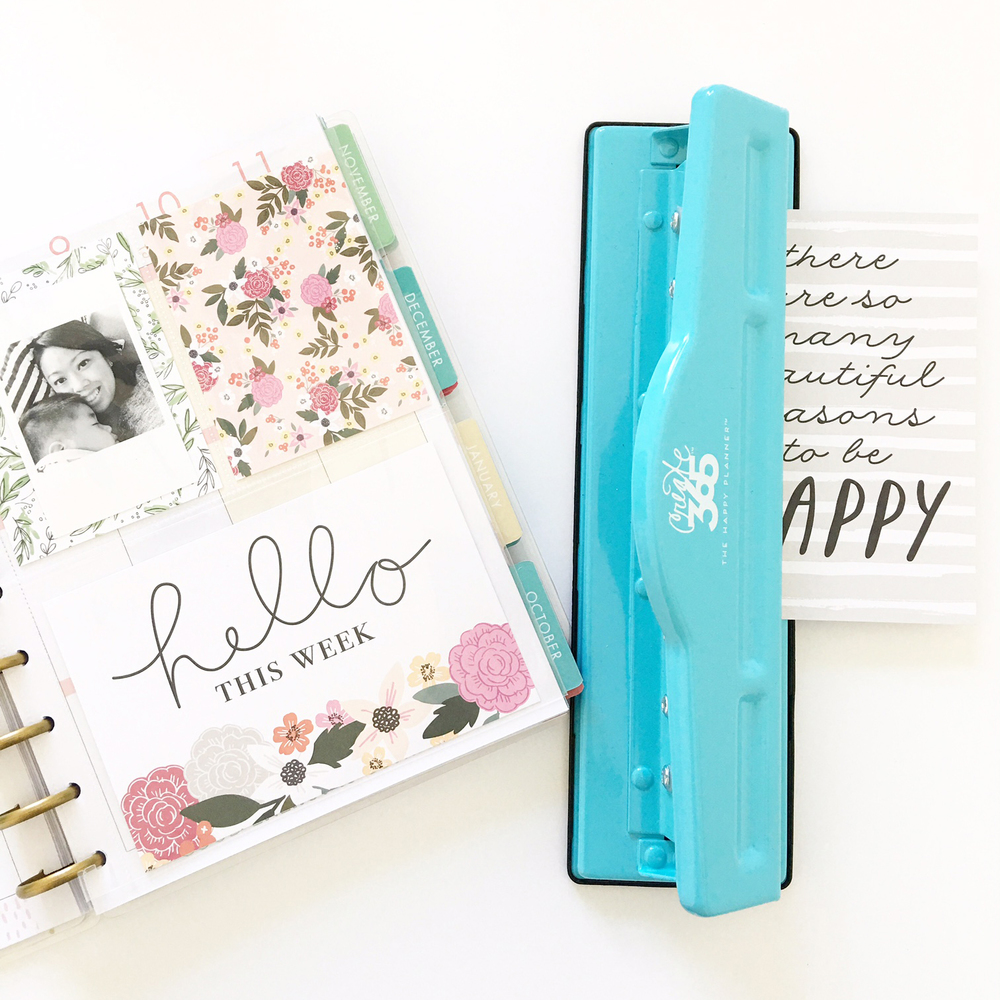 personalizing your Happy Planner™ with new Pocket Pages™ cards as done by mambi Design Team member Thuy Bui | me & my BIG ideas