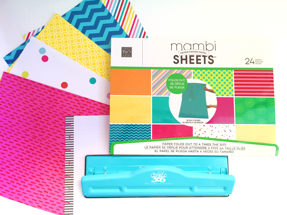 Diy happy planner dividers w expandable paper pads me for Planner decorating blogs