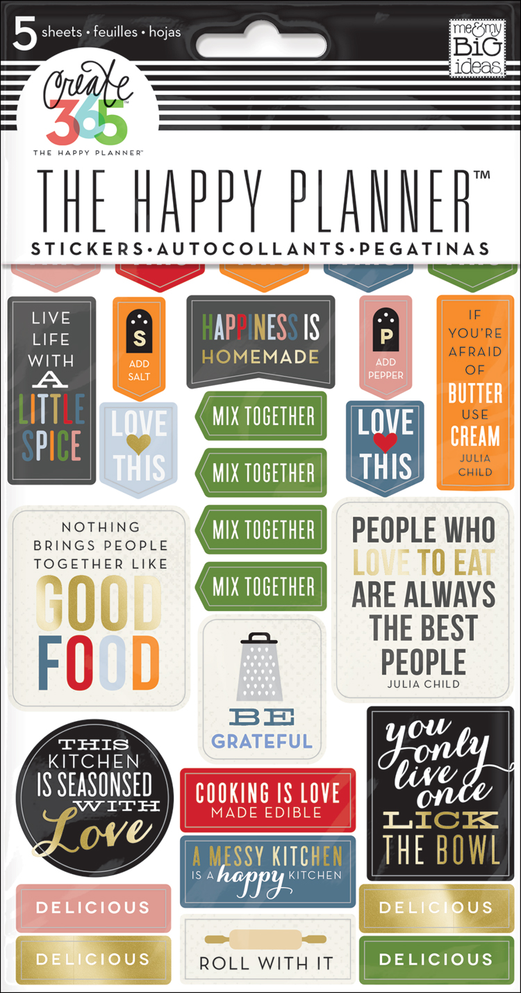 Recipe Organizer stickers for The Happy Planner™ | me & my BIG ideas.jpg