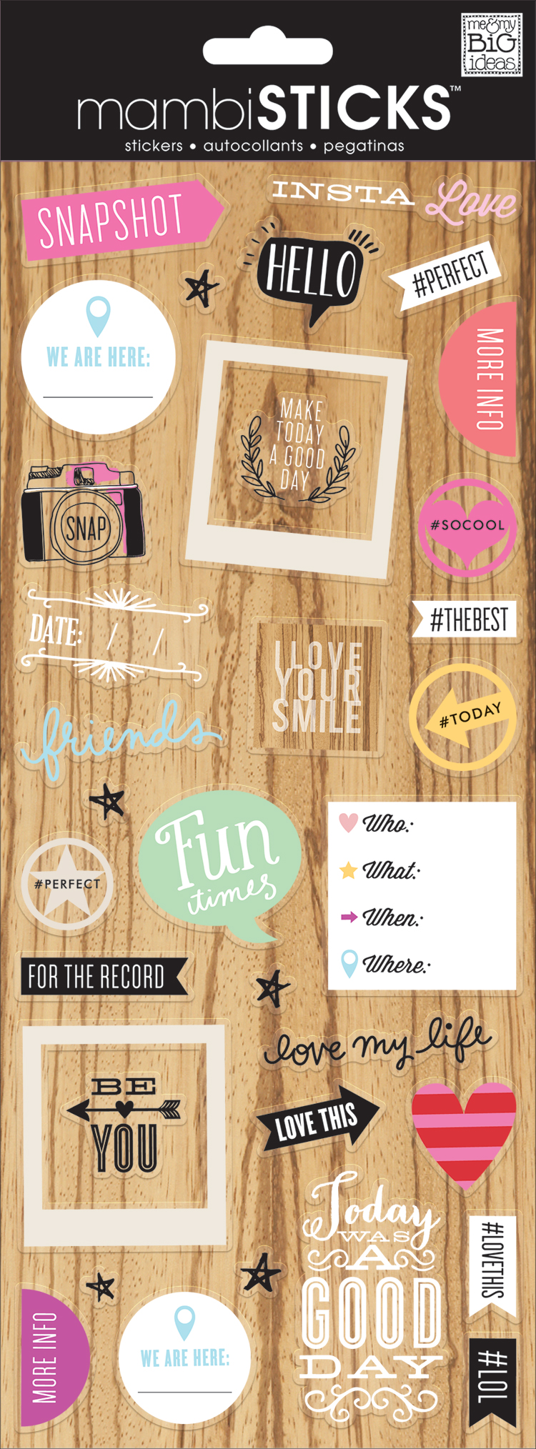 'Insta Love' mambiSTICKS stickers | me & my BIG ideas.jpg