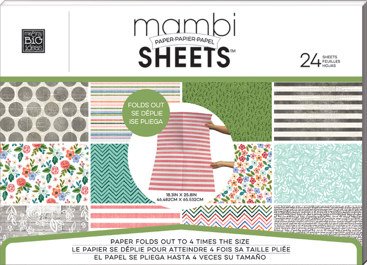 'Fresh Floral' Expandable Paper Pad | me & my BIG ideas.jpg