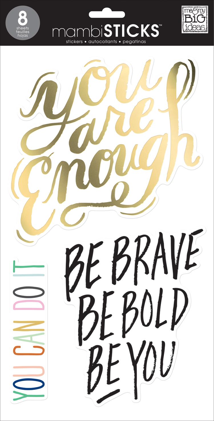 'Be Brave' JUMBO mambiSTICKS Big stickers | me & my BIG ideas.jpg