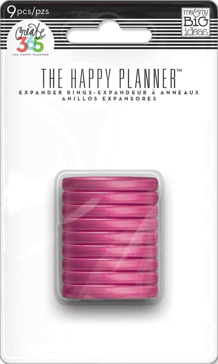 Medium Translucent Pink Discs for The Happy Planner™  | me & my BIG ideas.jpg