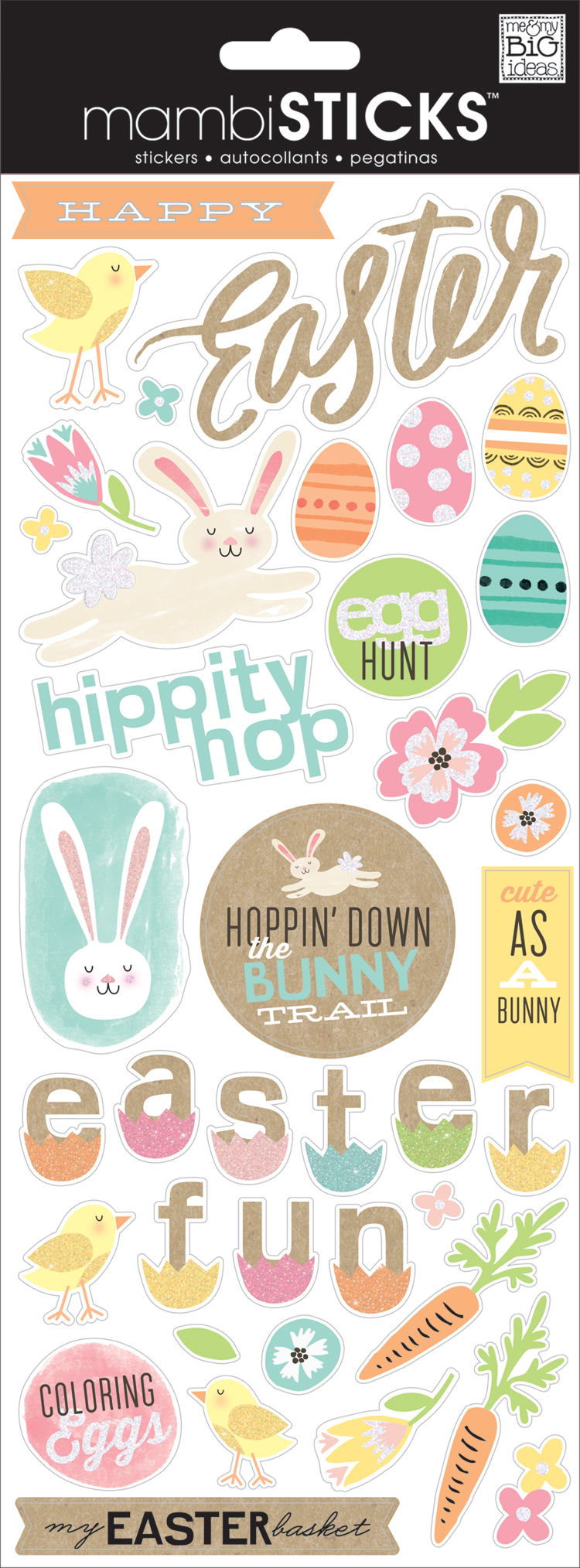 'Happy Easter' mambiSTICKS stickers | me & my BIG ideas.jpg