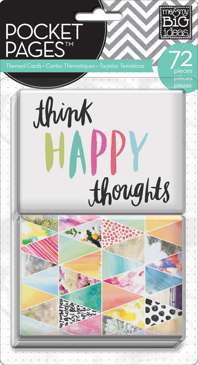 'Think Happy Thoughts' POCKET PAGES™ cards | me & my BIG ideas.jpg