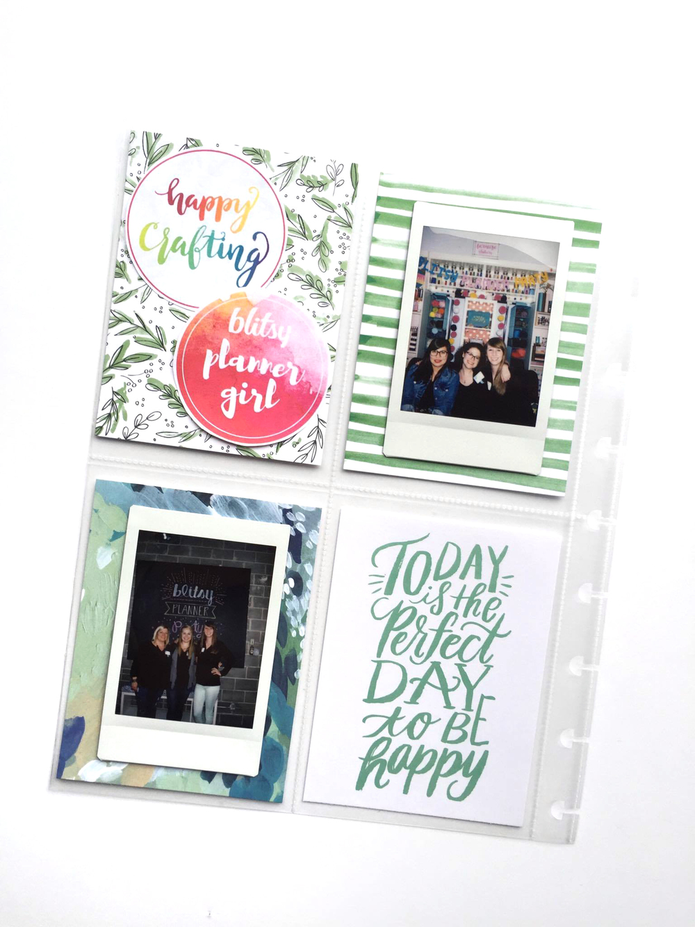 pocket scrapbooking in The Happy Planner™ of mambi Deisgn Team member Megan McKenna | me & my BIG ideas