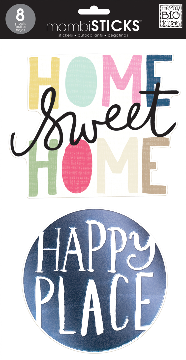 'Home' JUMBO mambiSTICKS big sticker | me & my BIG ideas.jpg