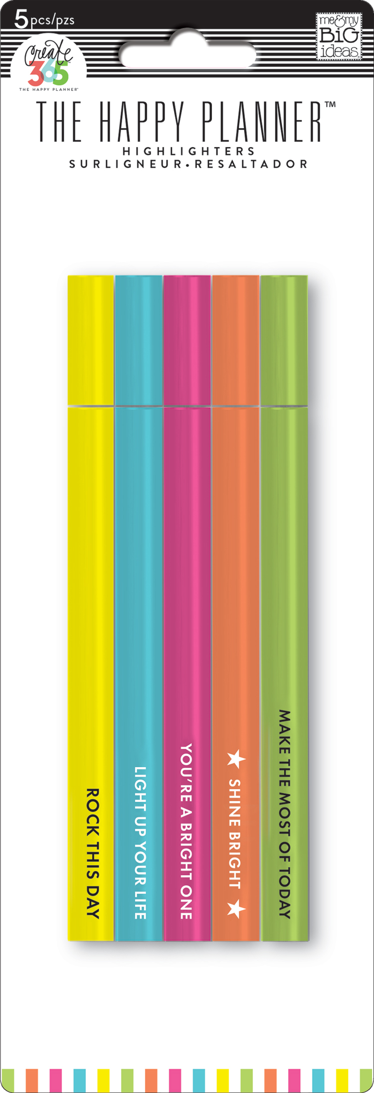 'Shine Bright' Highlighters for The Happy Planner™   me & my BIG ideas.jpg