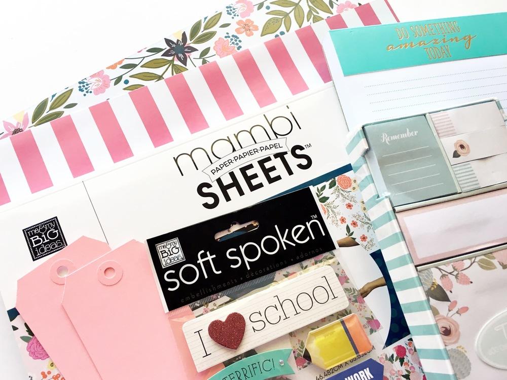 Teacher Appreciation gift wrapping & tags by mambi Design Team member Mary-Ann Maldonado   me & my BIG ideas