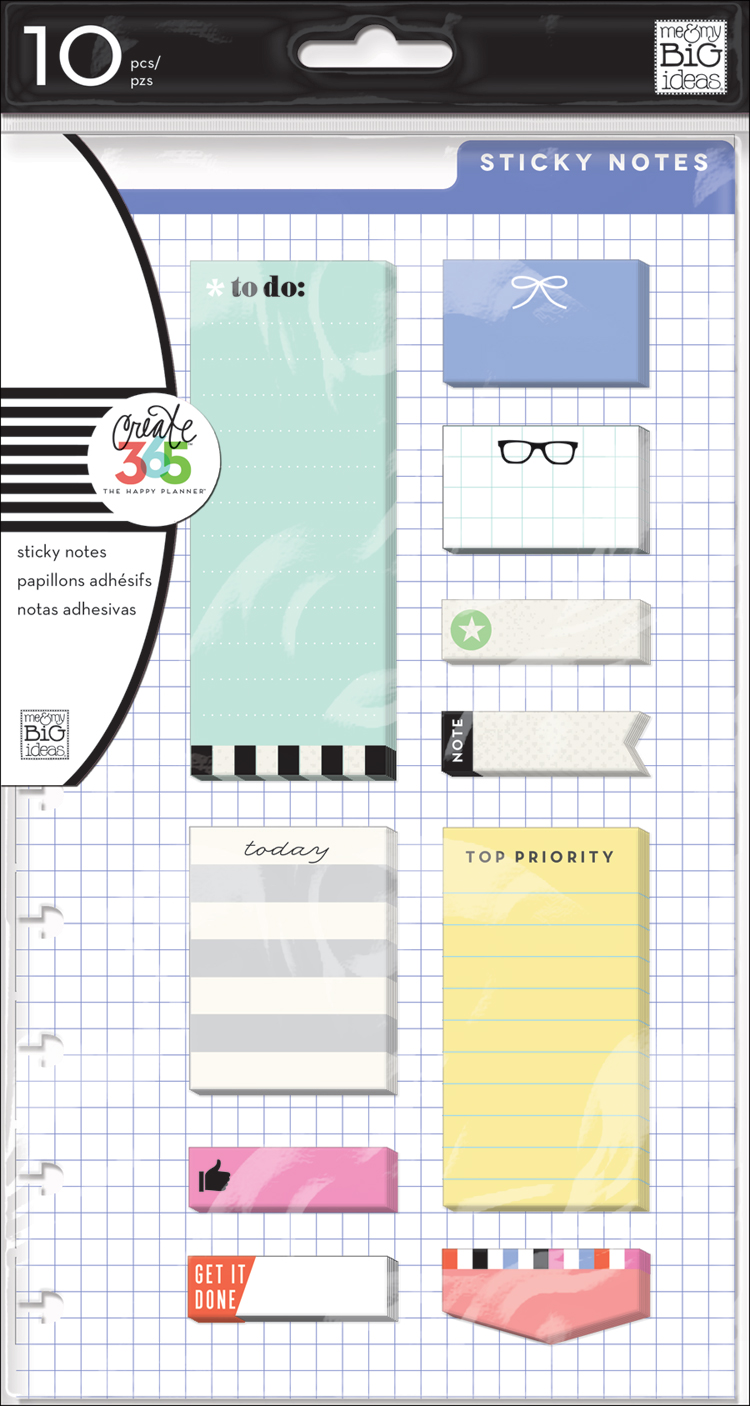 lavendar stick notes for The Happy Planner™   me & my BIG dieas.jpg