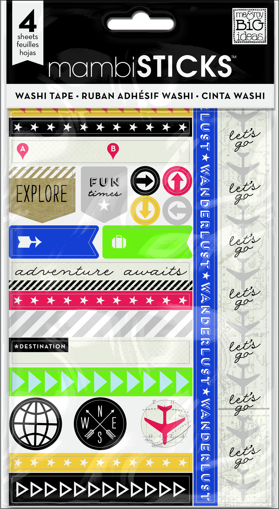 'Let's Go' washi tape mambiSTICKS stickers | me & my BIG ideas.jpg